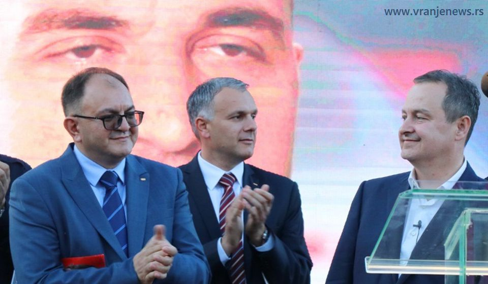Sa predizbornog skupa SPS-a u Vranju 15. juna. Foto Vranje News
