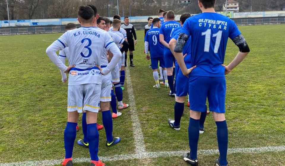 Lugina se nakon trijumfa u Stublu približila lideru Trnovcu na samo dva boda. Foto KF Lugina