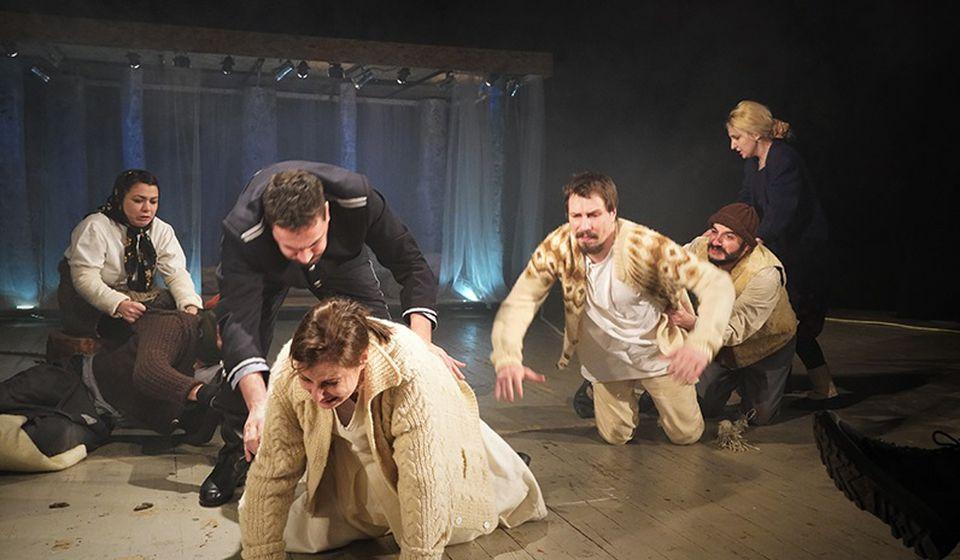 Redak primer političkog pozorišta bez reči o politici. Foto www.pulsteatar.org.rs