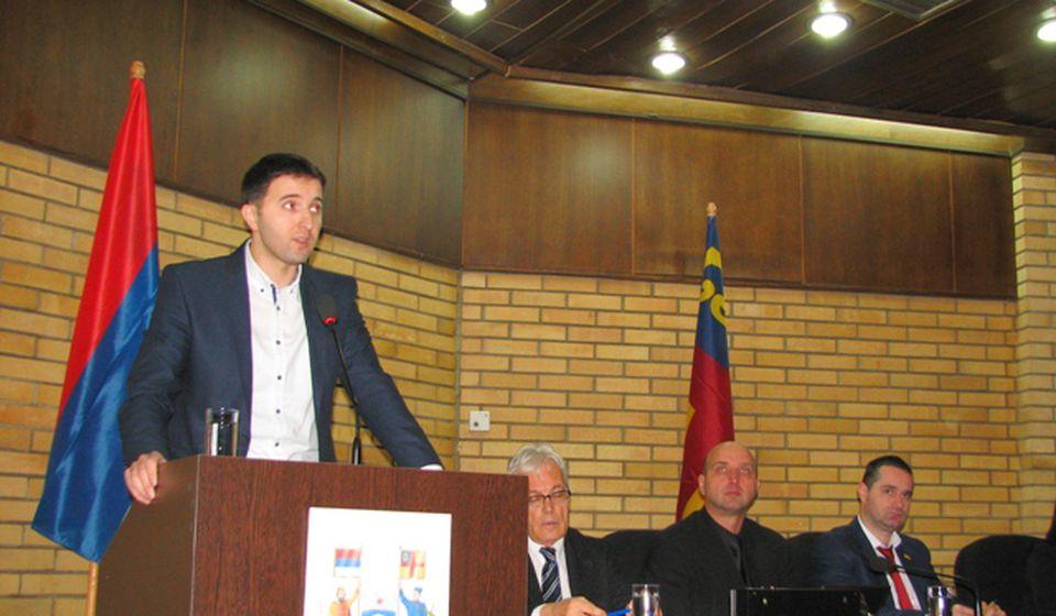 Budžet projektovan na 2,7 milijarde dinara: većnik Bojan Kostić. Foto VranjeNews