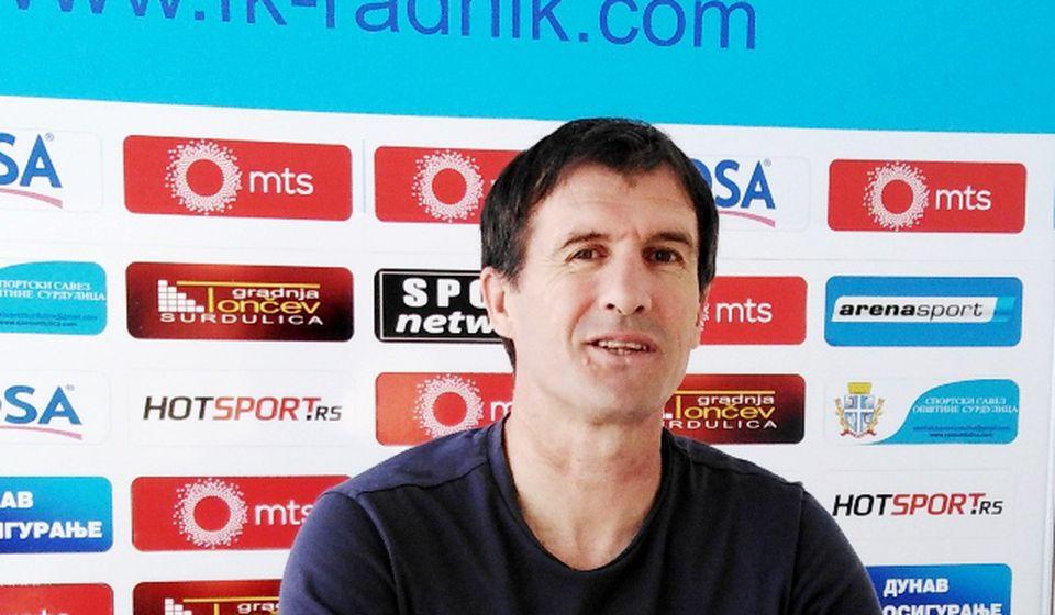 Nenad Vanić na konferenciji za medije. Foto D. Mirčev