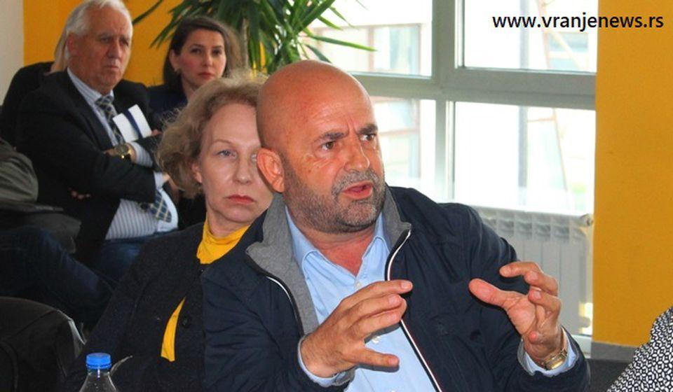 Nismo mi bili meta: Nedžat Beljulji. Foto Vranje News
