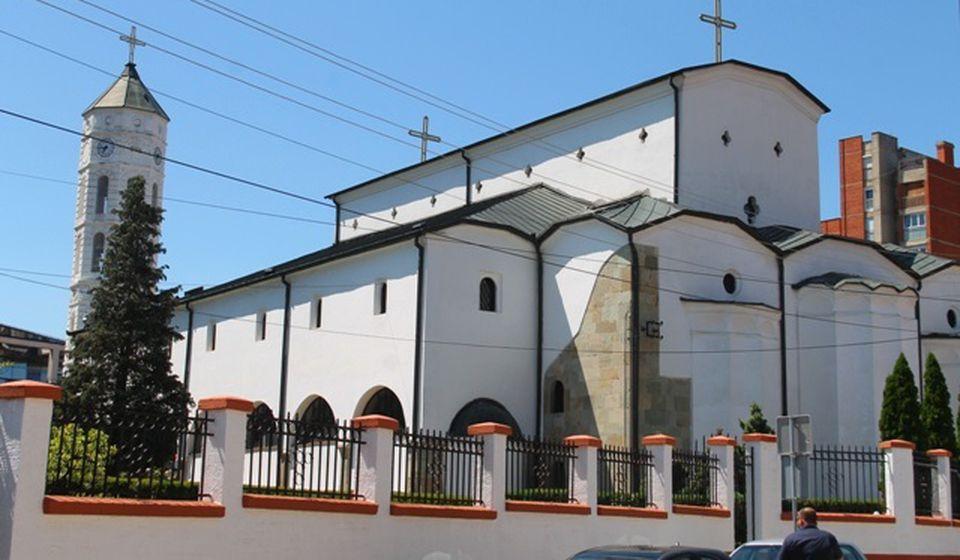 Saborni hram Svete Trojice u centru Vranja. Foto VranjeNews