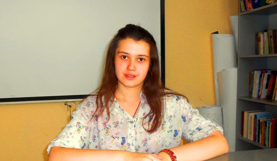 Mihaela MIlenković. Foto Vranje News