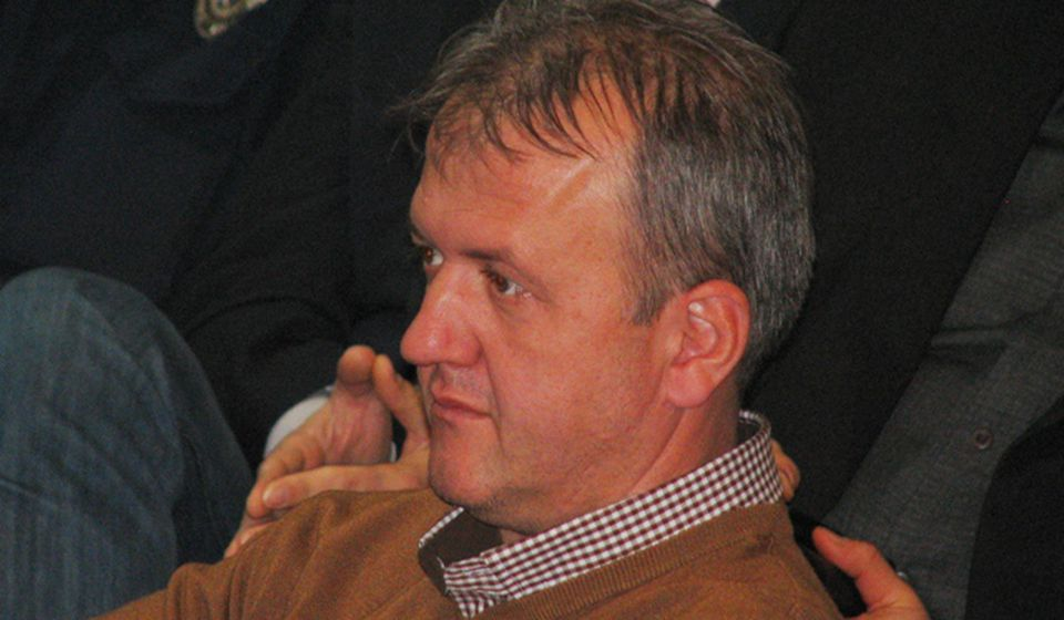 Gradnja na stadionu je bespravna: Boban Antanasijević, načelnik inspekcija. Foto VranjeNews