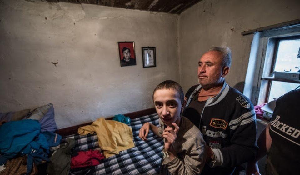 Plan je da se za Darka Arsovskog i njegovu porodicu izgradi kuća. Foto Srbi za Srbe