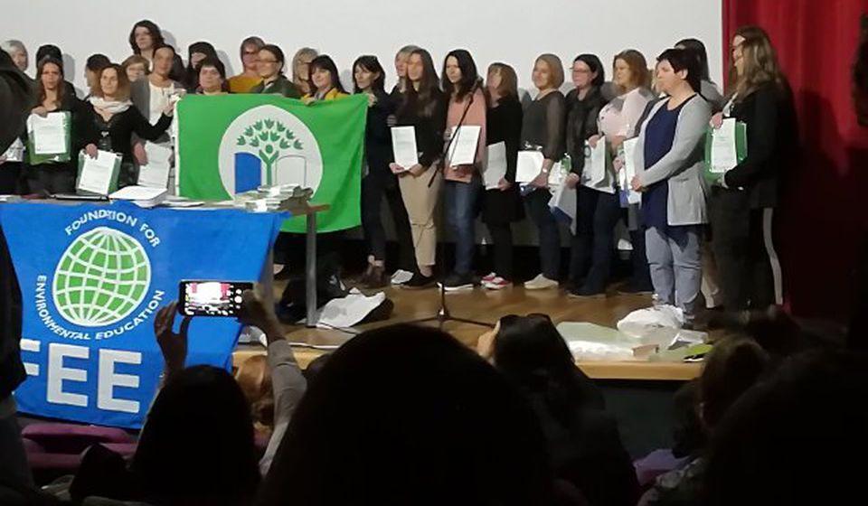 Vranjska škola je nosilac zelene zastave. Foto lična arhiva
