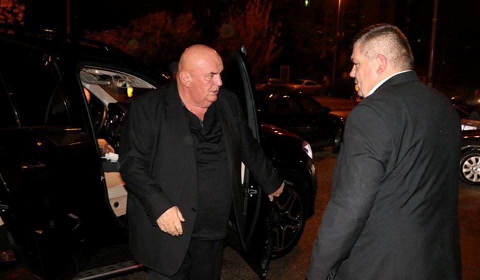 Palma pristiže na svečanost povodom izbora novog rukovodstva podmlatka Jedinstvene Srbije. Foto VranjeNews