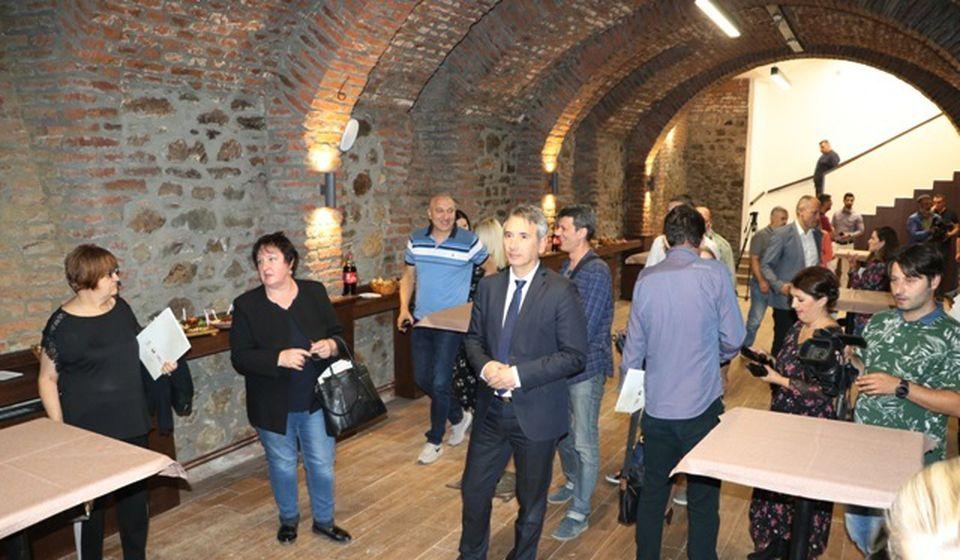 Podrumski deo, mesto za kabaretske sadržaje. Foto VranjeNews
