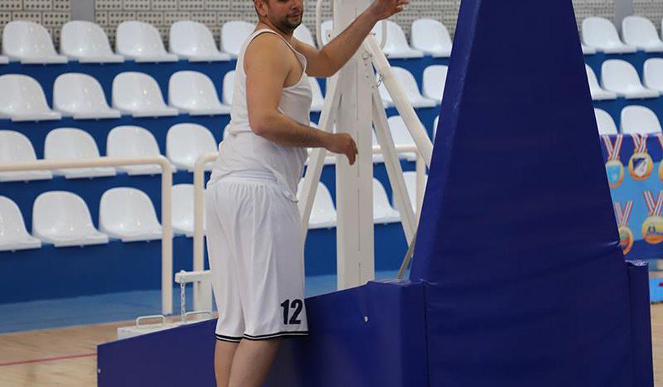 Više od 500 utakmica u dresu Radnika: Marko Marković. Foto D. Mirčev