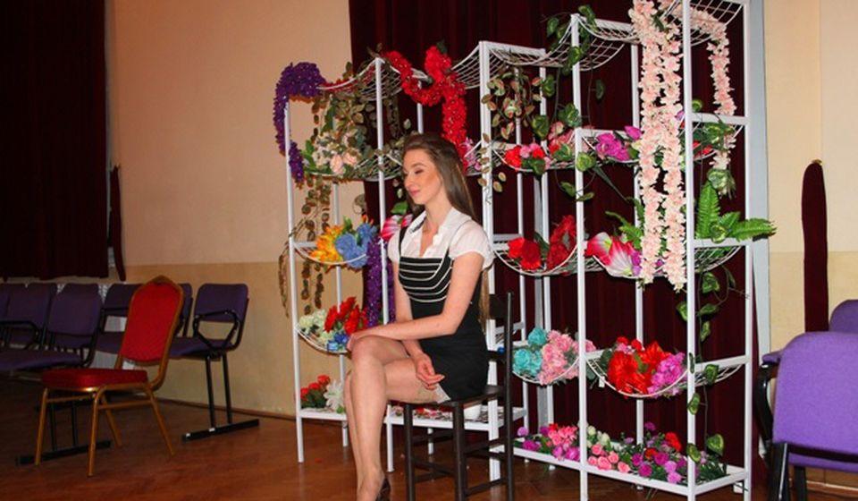 Mlada glumica Jelena Filipović ove godine primljena u stalni radni odnos. Foto VranjeNews