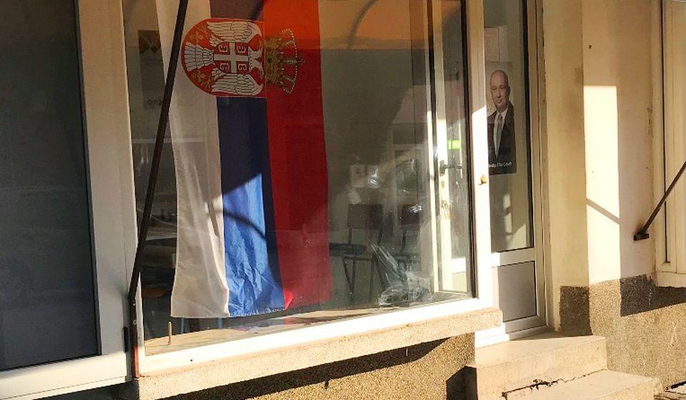 Sedište vranjskog odbora stranke Nenada Popovića je u Ulici Karađorđevoj. Foto Vranje News