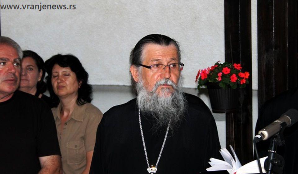 Episkop Pahomije. Foto VranjeNews