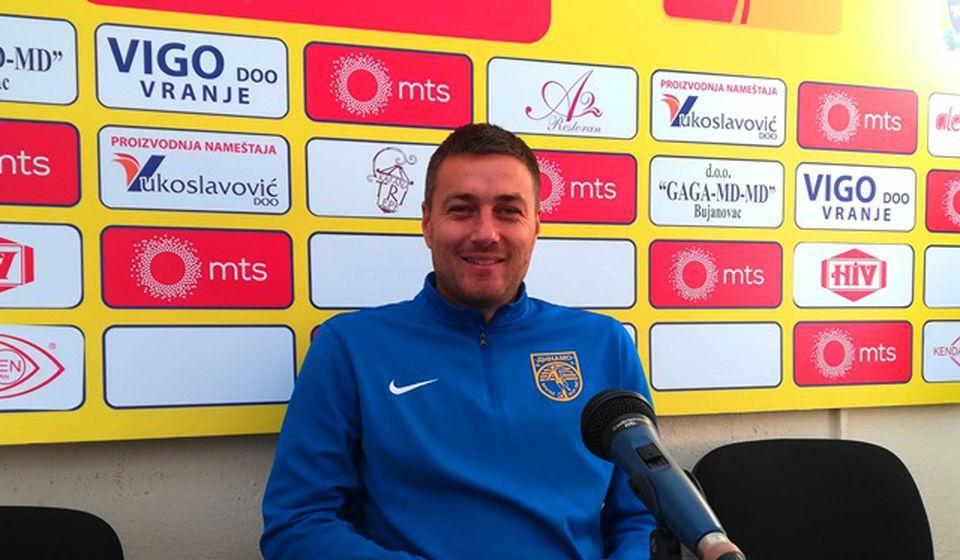 Sve osim pobede bilo bi poražavajuće za nas: pomoćni trener Dinama Nikola Stojanović. Foto Vranje News