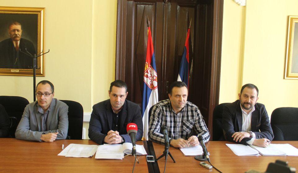 Isti aršini za sve: gradski funkcioneri. Foto Grad Vranje