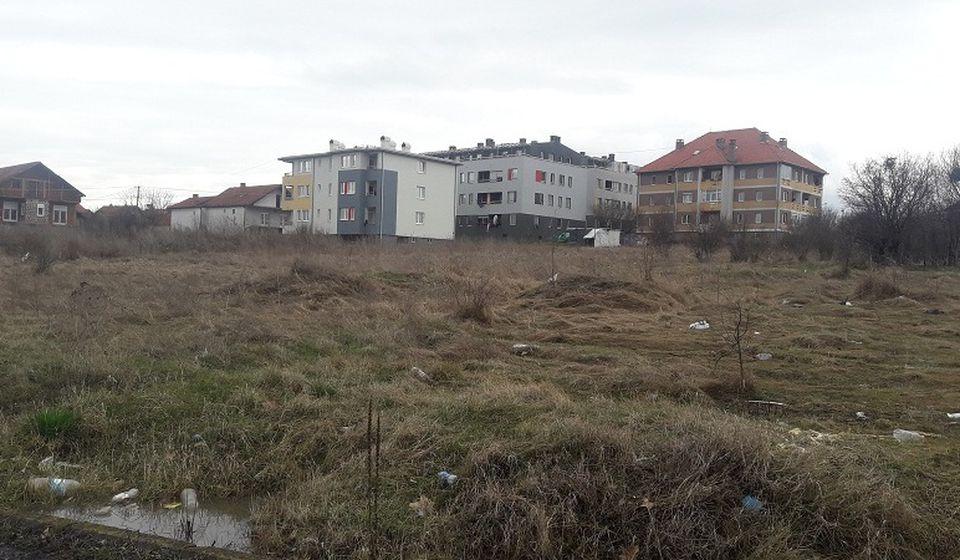 Lokacija za izgradnju stanova za bezbednjake je kod Pete škole. Foto Grad Vranje