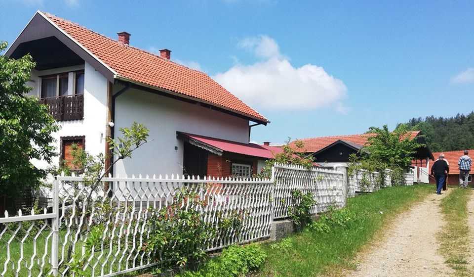 Selo Lebet. Foto Vranje News