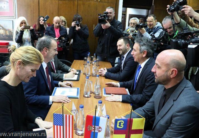 Godfri naglasio da insistira na dijalogu. Foto VranjeNews