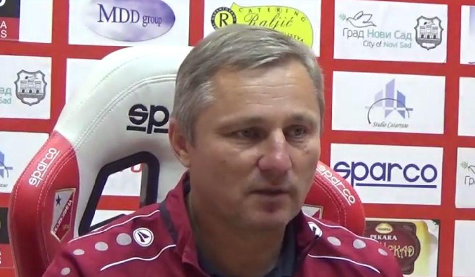 Da se oporavimo i osvojimo tri boda protiv Dinama u subotu: Milan Milanović. Foto screenshot FK Vojvodina
