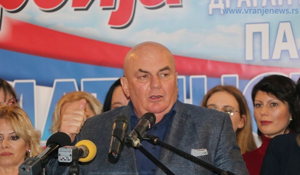 Dragan Marković Palma. Foto Vranje News