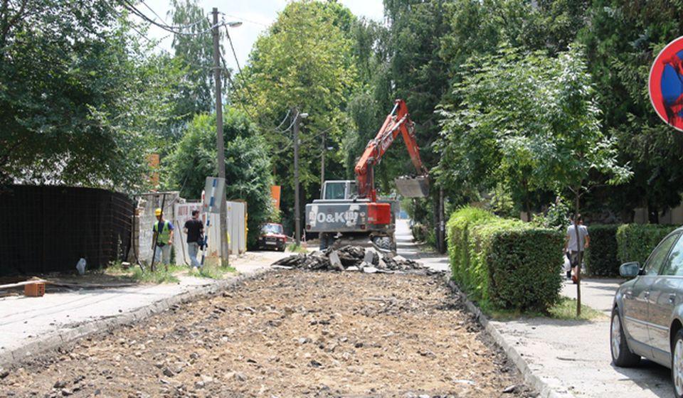 Rekonstrukcija Ulice J. J. Lunge. Foto VranjeNews