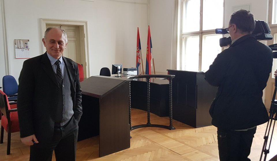 Predsednik Osnovnog suda Stojadin Stanković. Foto Vranjenews