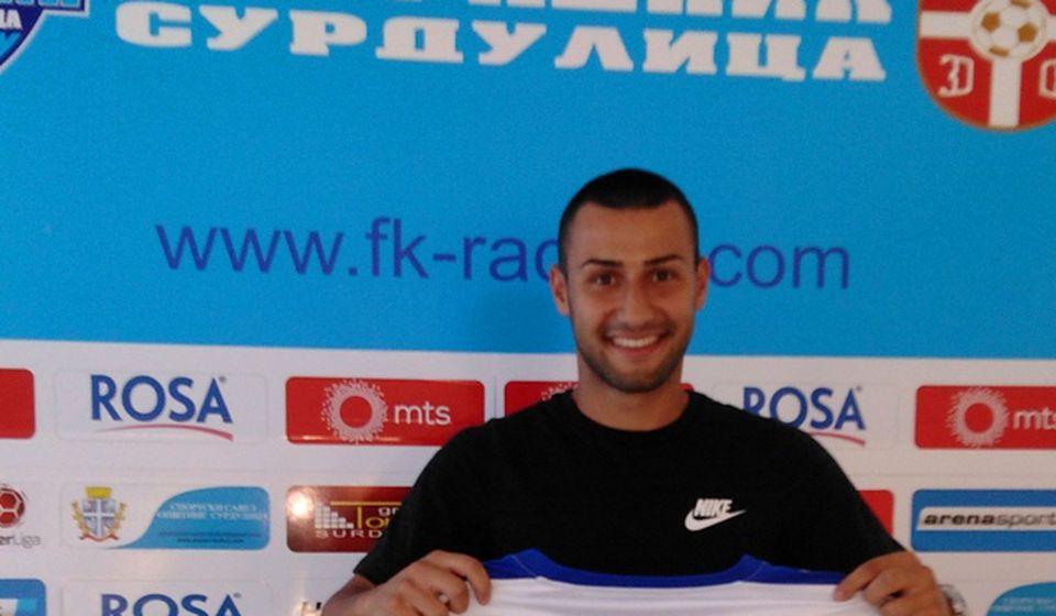 Boban Georgiev se dva puta upisao u listu strelaca protiv Spartaka. Foto FK Radnik