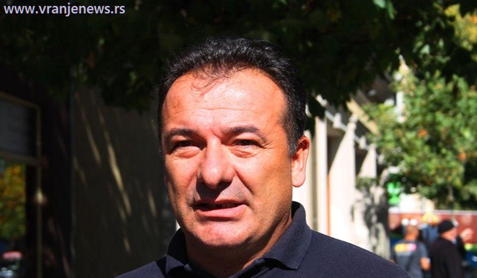 Ivica Tašković, smenjeni načelnik. Foto Vranje News