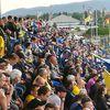 Navijači će na stadionima morati da drže distancu od jedno metra. Foto Vranje News