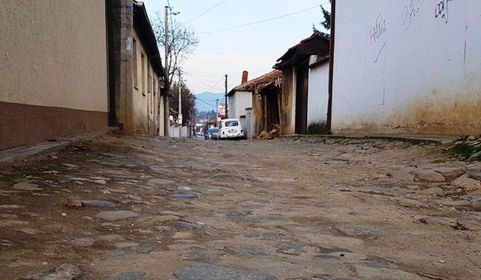 Ulaz u Baba Zlatinu ulicu sa zapadne strane. Foto VranjeNews
