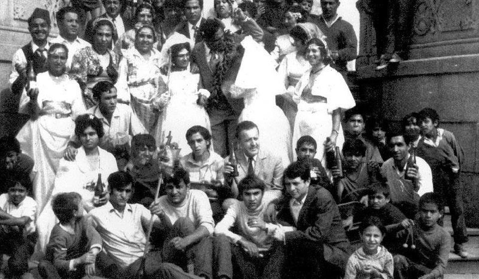 Romska svadba početkom sedamdesetih godina prošlog veka u Vranju. Foto lična arhiva Durčeta Jašarevića