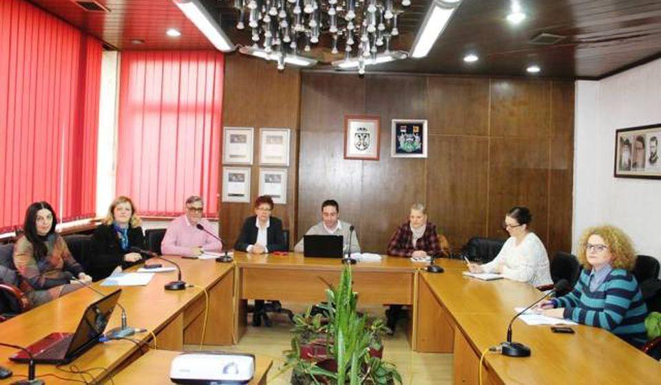 Sastanak radne grupe. Foto Grad Vranje