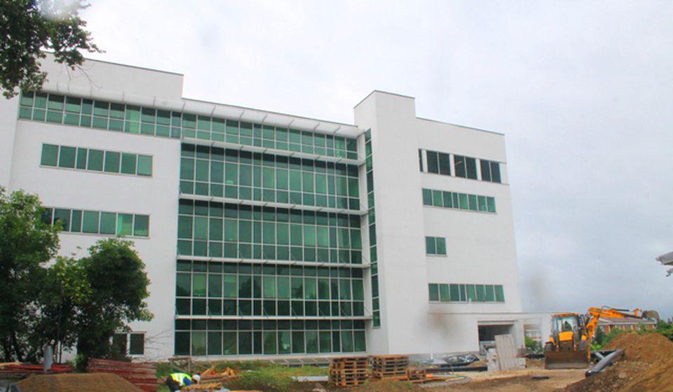 Novi Hirurški blok u izgradnji. Foto VranjeNews
