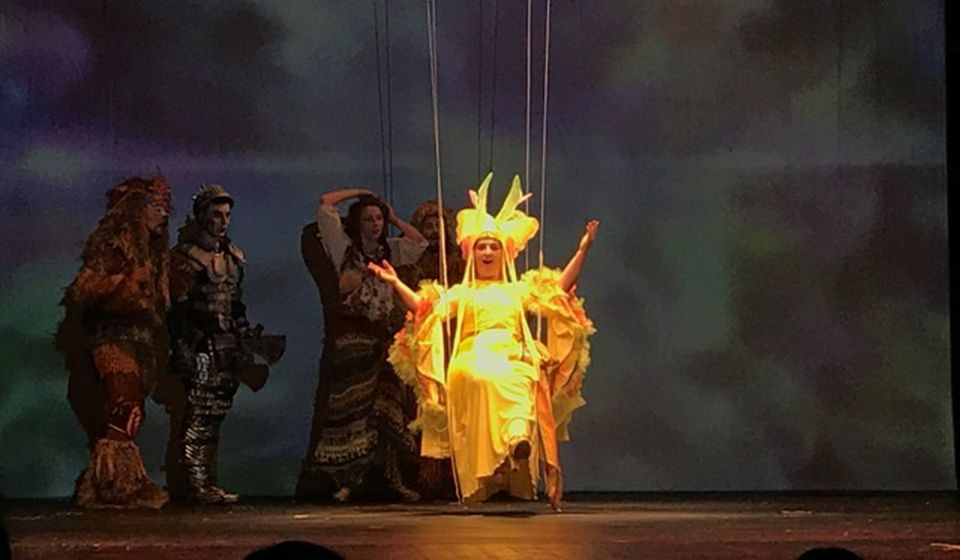 Detalj iz predstave Čarobnjak iz Oza vranjskog ansambla. Foto Vranje News