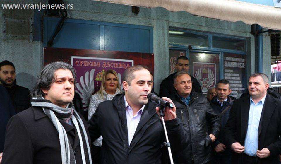 Dejan Bajramović (levo) biće čovek od poverenja desničara u Gornjoj čaršiji. Foto VranjeNews