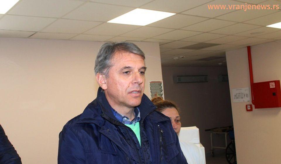 Goran STanojević. Foto Vranje News