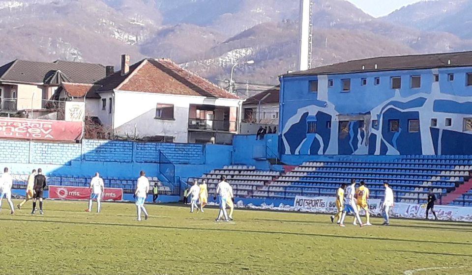 Detalj sa današnjeg meča u Surdulici. Foto VranjeNews