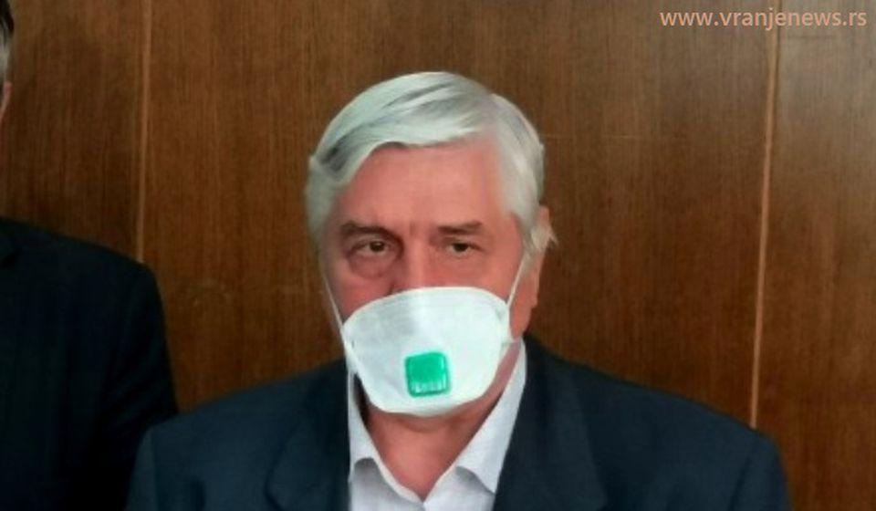 Deset puta više zaraženih nego što pokazuju zvanične brojke: Branislav Tiodorović. Foto Vranje News