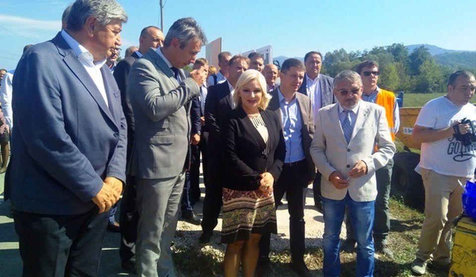 Početak izgradnje kolektora u Vranjskoj Banji. Foto VranjeNews