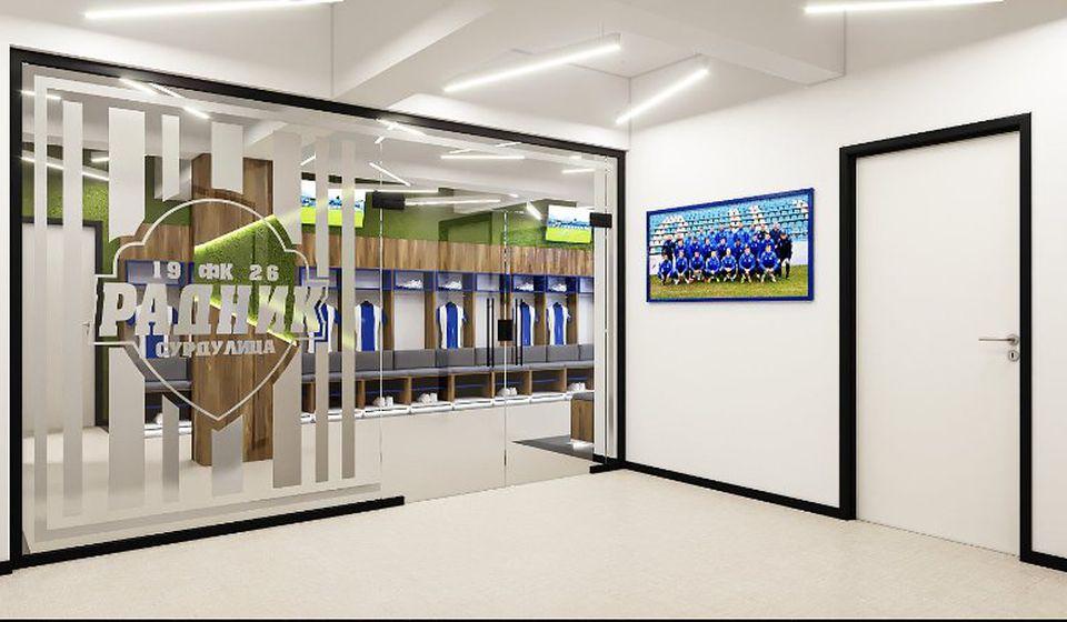 Uprava kluba najavljuje nove investicije s ciljen unapređenja fudbalskih uslova. Foto FK Radnik