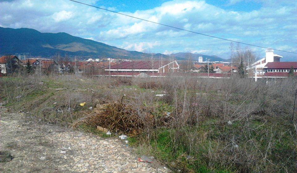 Ovo je lokacija za izgradnju stanova u Vranju. Foto VranjeNews