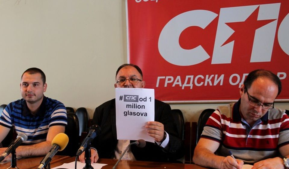 Podizanje lestvice: Zoran Antić smatra da SPS može do milion glasova. Foto VranjeNews