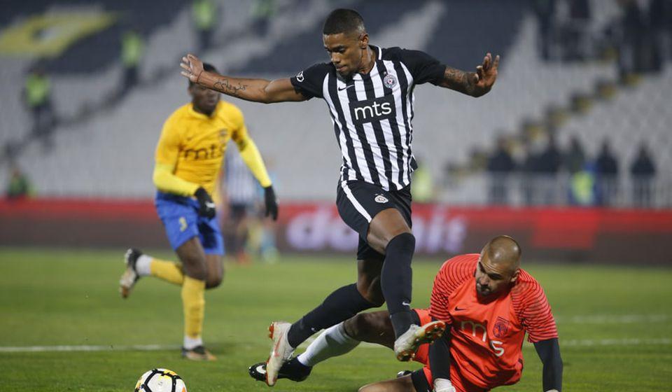Da li se sumnja u njegove odbrane u utakmici s Partizanom: Uroš Đurić. Foto FK Partizan
