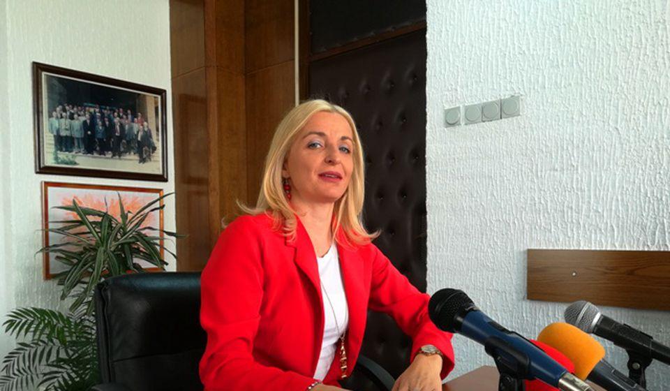 Gradska većnica i portparolka veća Zorica Jović. Foto VranjeNews