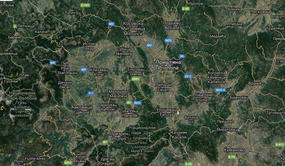 Foto printscreen Google Earth