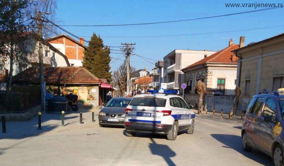 Policija obavila uviđaj. Foto Vranje News