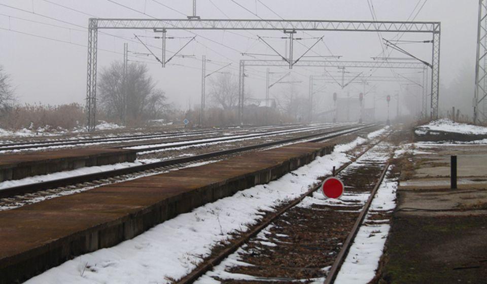 Pruga koja prolazi pored Železničke stanice Vranje. Foto VranjeNews