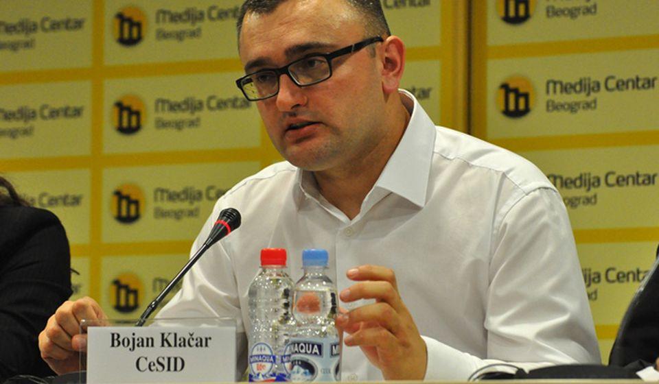 Bojan Klačar. Foto Medija centar Beograd