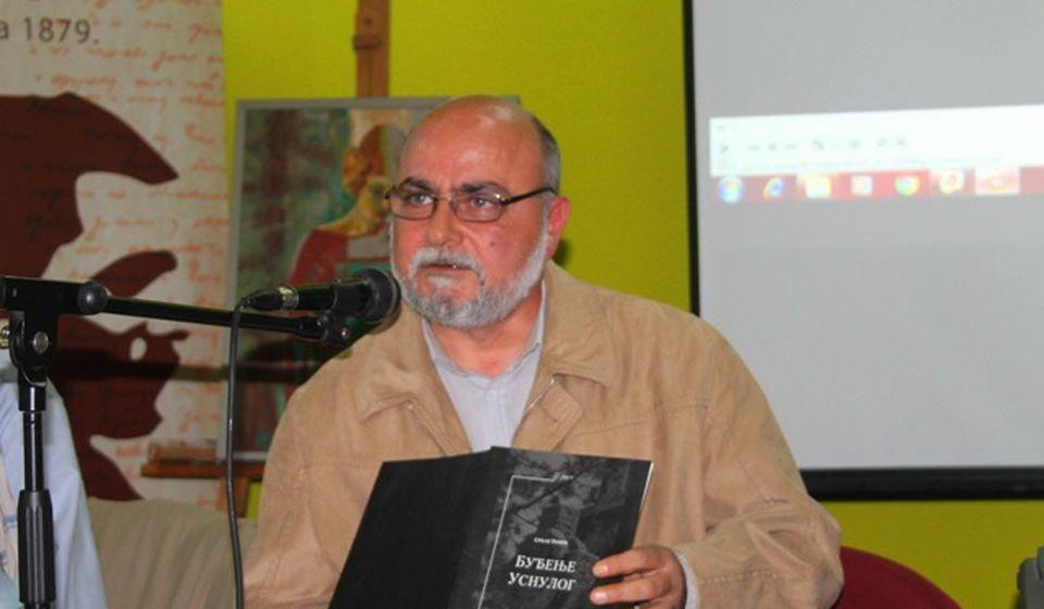 Doktor Tomić u junu 2019, na obeležavanju 35 godina svog stvaralaštva. Foto Vranje News