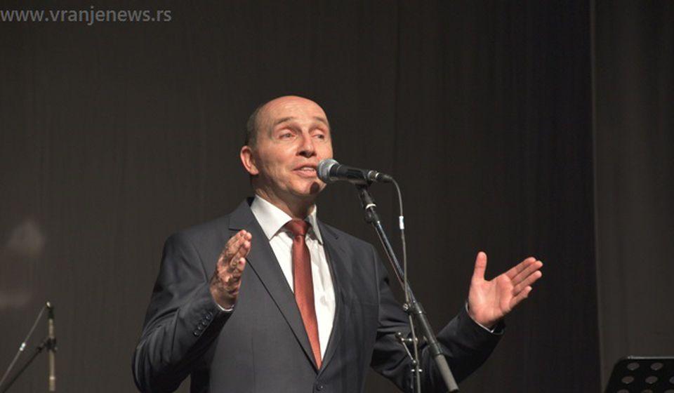 Branimir Stošić Kace. Foto Vranje News